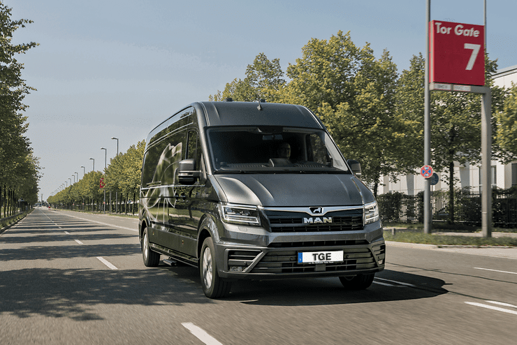 Uzsākta jaunā MAN TGE mikroautobusa tirdzniecība Latvijā