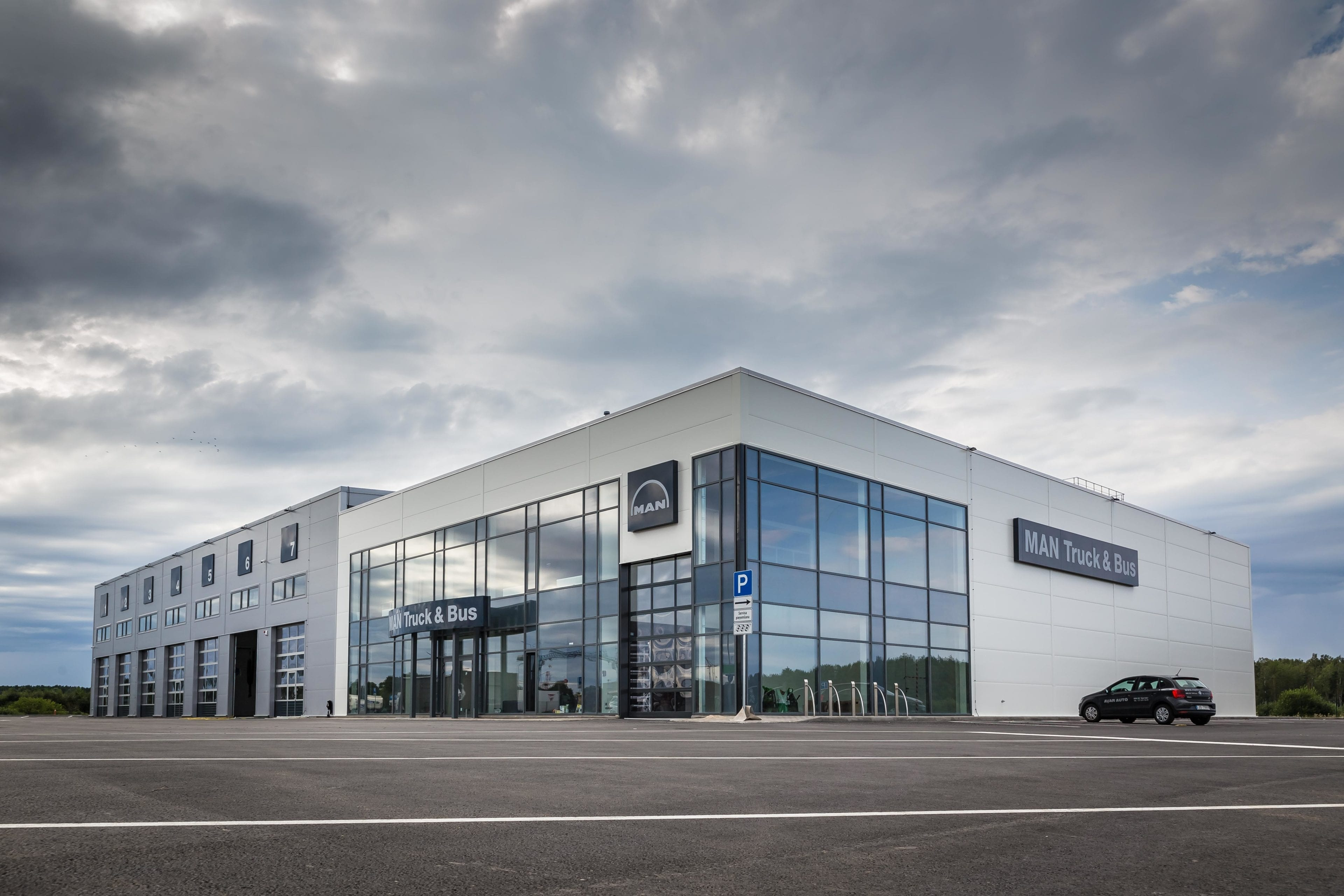 Avar Auto Service Centre receives the Latvian Construction Industry's Annual Award 2017