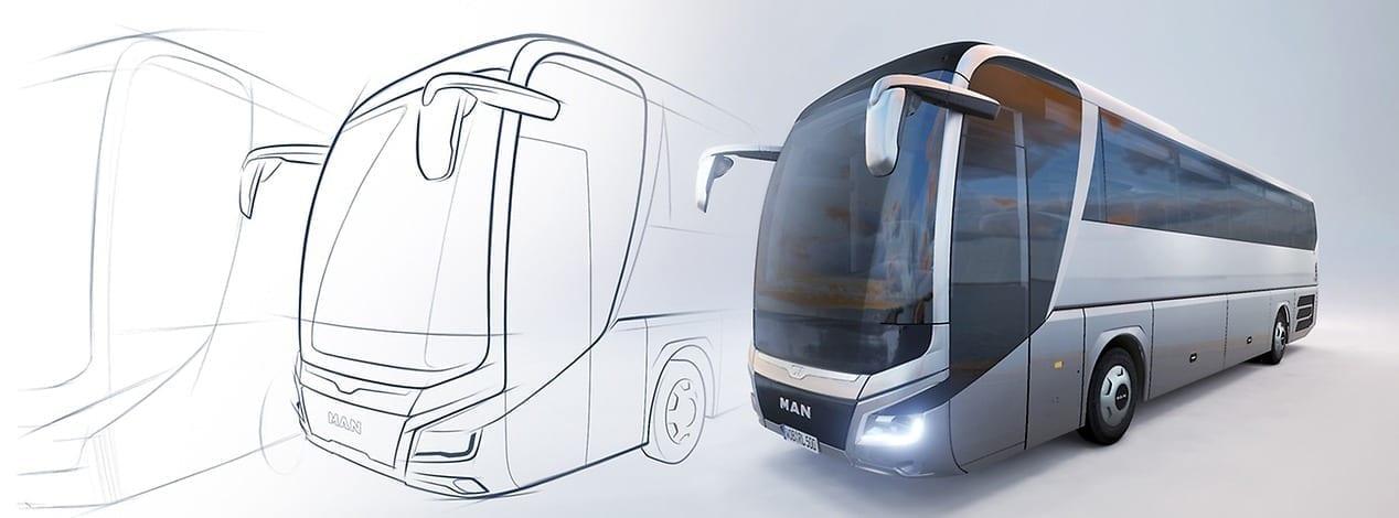 "MAN Lion's Coach autobuss saņem prestižo ""iF"" dizaina balvu"