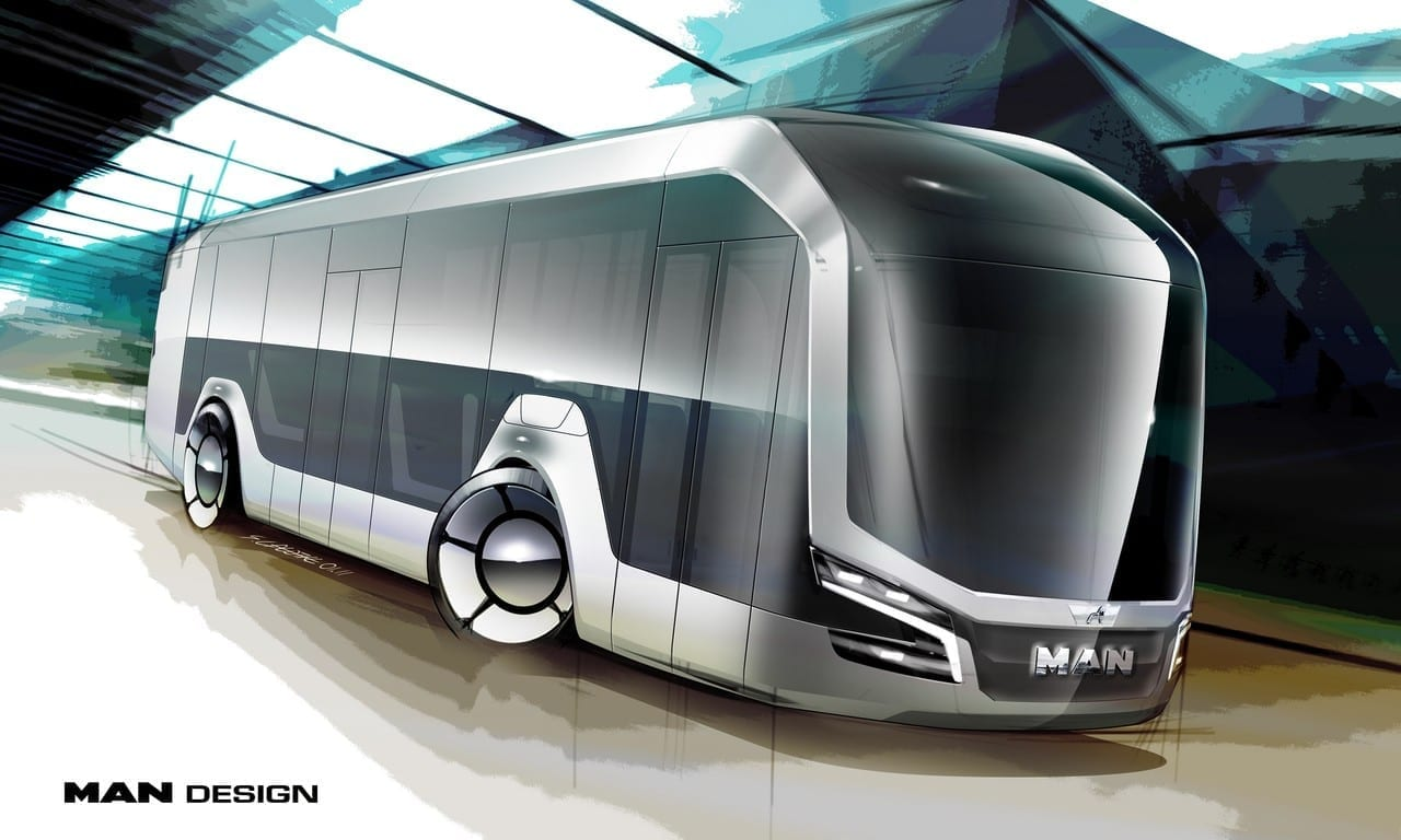 iF Design Awards for the MAN Lion's City bus and the MAN CitE concept truck