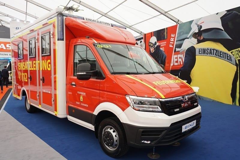 RETTmobil 2019 izstādē MAN prezentēs TGE ātrās neatliekamās medicīniskās palīdzības un ugunsdzēšamās mašīnas