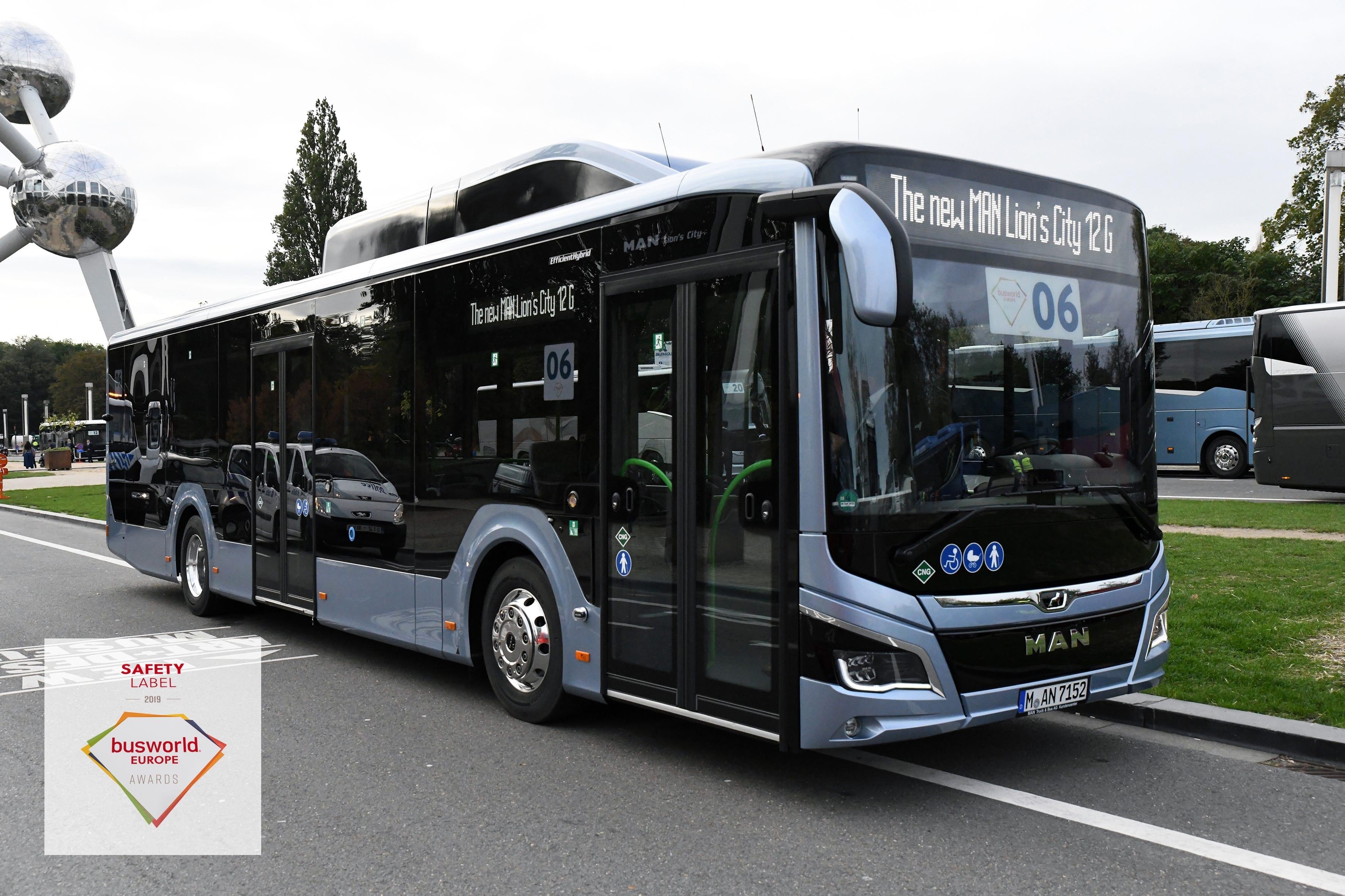 Lion's City – drošākais pilsētas autobuss pasaulē