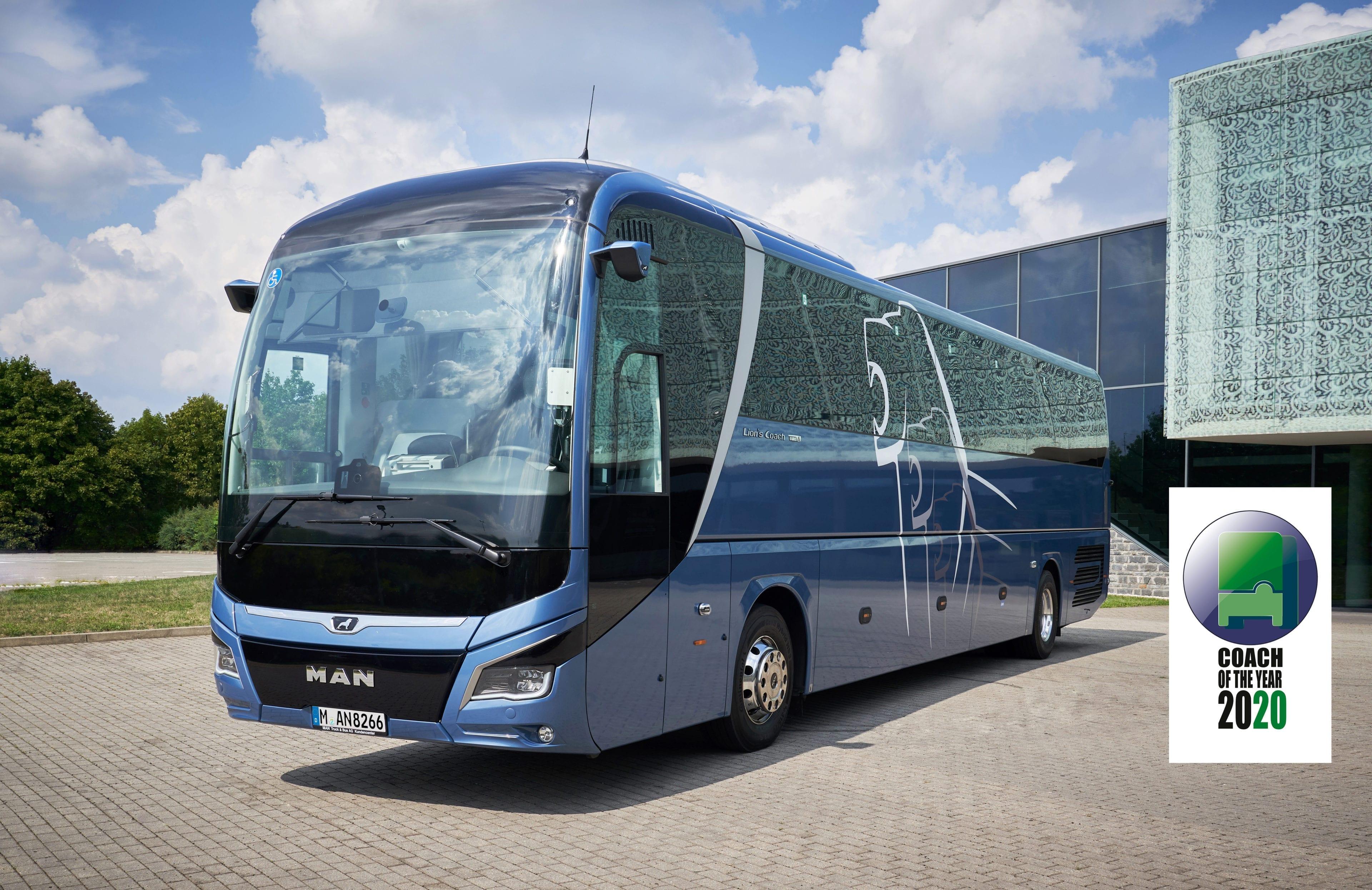 "Lion's Coach ieguvis ""Tūrisma autobusu 2020"" titulu"