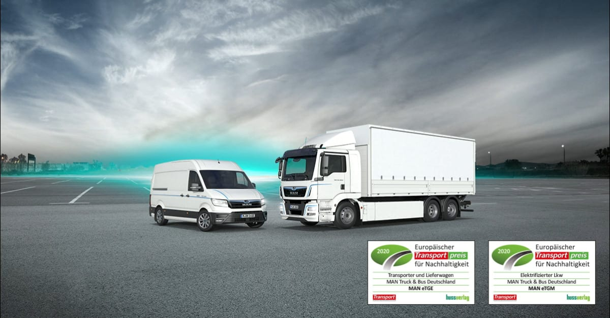 "eTGE and eTGM win ""European Transport Award for Sustainability 2020"""