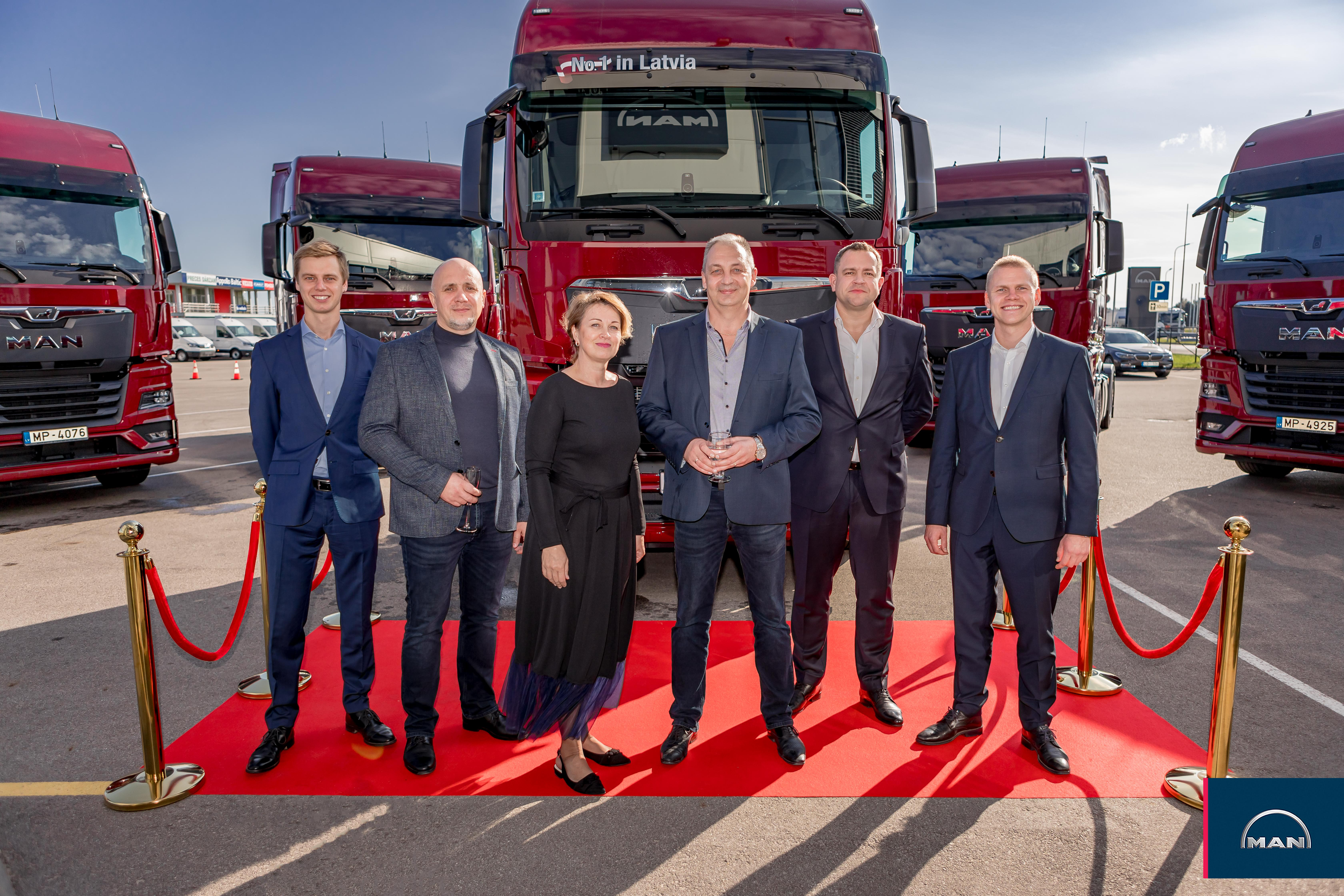 HEAD — first to own the new MAN TGX in Latvia