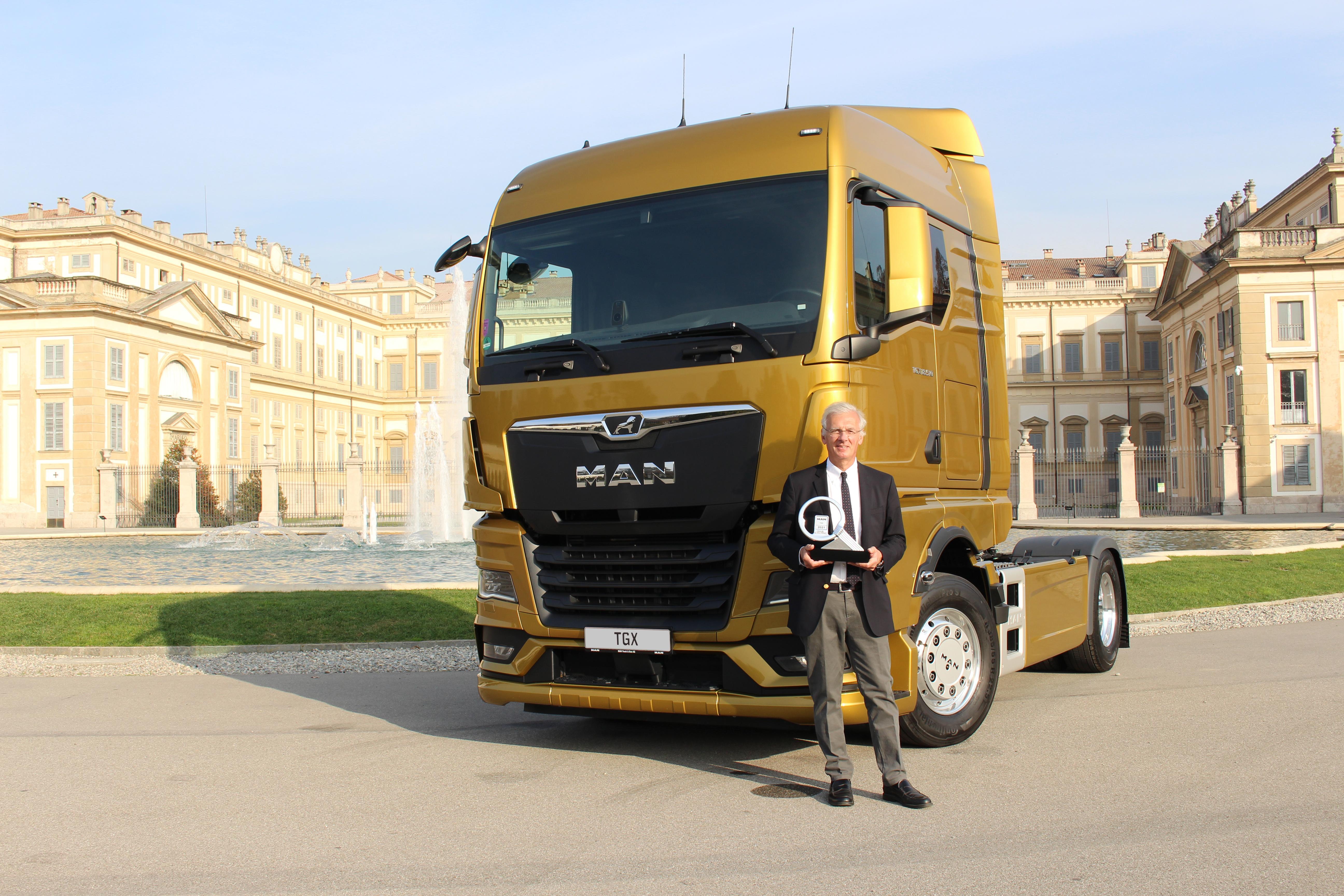 Новый MAN TGX — грузовой автомобиль 2021 года